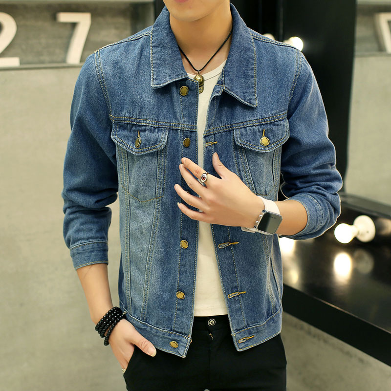 Popular Mens Patchwork Denim Jacket-Buy Cheap Mens Patchwork Denim ...