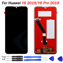 Original Y6 2019 LCD Display 6.09 For Huawei Prime Touch Screen Digitizer Assembly MRD-LX1F display