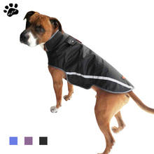 My Pet Открытый Светоотражающий одежда для собак водонепроницаемый одежда для животных Черный пурпурный Одежда для собак S-3XL размер одежда для собак товары для животных для собак для животных
