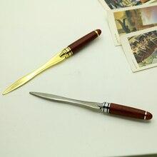Открывалка, открытое журнала красное металлический дерево письмо нож
