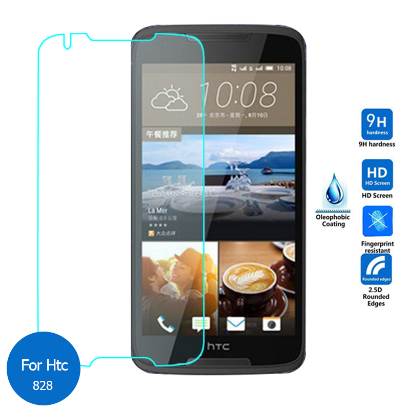 Premium Tempered Glass For HTC Desire 828 828w Dual SIM Screen Protector 9H Toughened Protective Film Guard