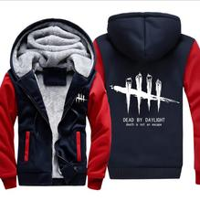 Game Peripheral DEAD BY DAYLIGHT Clothes Autumn Winter Men and women Zipper Jacket Sweatshirt Fleece Thicken coat