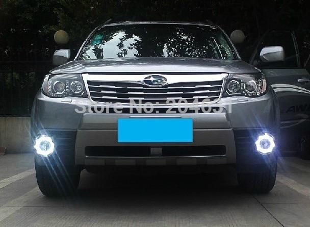 High quality LED Daytime running lights front Fog lamp Fog Lights 2009-2012 SUBARU Forester fast air ship
