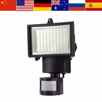 Bright Garden Solar Light Lamp Outdoor Sensor Wall Lamp 100 LED SMD Light for Garage Drive Security