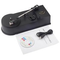 USB Portable Mini Vinyl Turntables Player Vinyl Turntable to MP3/WAV/CD Converter Mini Phonograph Turntable Record EC008 1