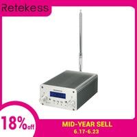 RETEKESS TR501 1 Вт/6 Вт PLL fm-передатчик стерео ЧМ-вещание передатчик станция для Конференции обучения на открытом воздухе