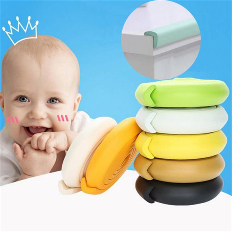 2M Child Protection Corner Protector Baby Safety Guards Edge Corner Guards Solid Angle Form Single Loaded