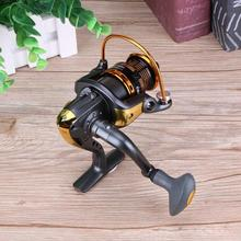 New 12+1BB Metal Spinning Fishing Reel Peche Fish Wheel GA Carp Ice Fishing Gear 5.5:1 Real 13BB Bait Casting Reel JS500-4000