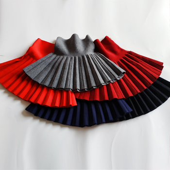 Baby Girl's Casual Pleated Mini Skirt 6