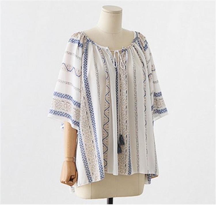 HTB1kplWLXXXXXa XFXXq6xXFXXXf - Summer style Kimono blouses top Plus size XL-5XL Women shirts