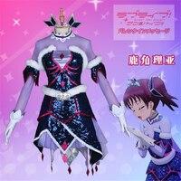 Anime Cosplay Costume LoveLive!Sunshine!! Christmas Eve Kazuno Ria Dress Women Dress full sets A
