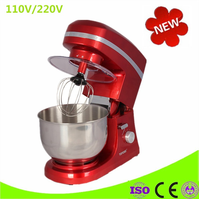 Home Use Multifunctional 5L 6-Speed Kitchen Electric Food Stand Mixer Blender Cake Dough Bread Egg Mixer Maker Machine