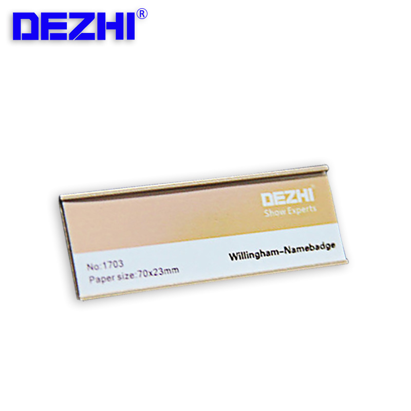 70*25mm Wholesale Silver/gold Pin Style And Magnets Metal Strong Magnetic Name ID Tag Badge Fastener Holder Card Tag