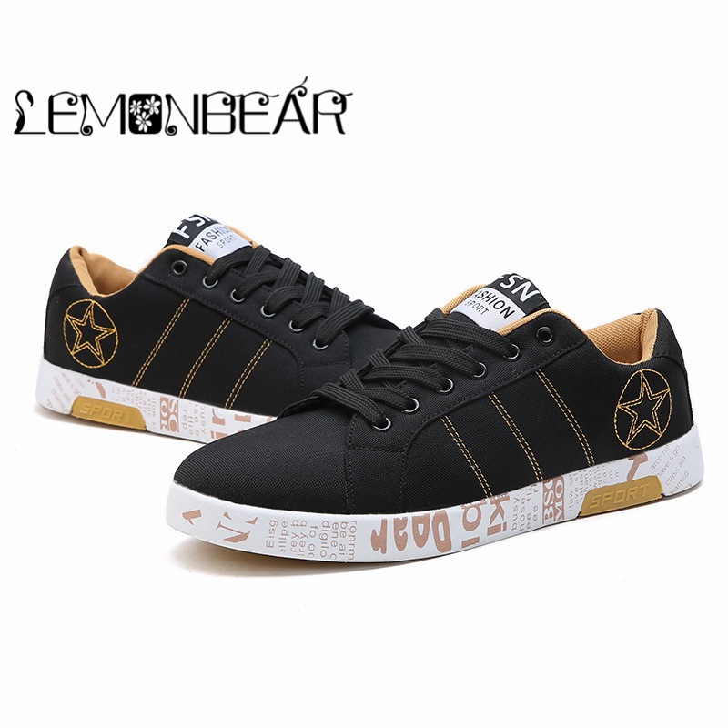 Homme Chaussures Confortable Mode Red Hiver Yellow Automne Appartements Hommes Casual White Respirant black Sneakers black Black Mocassins Toile 2018 xxzSA