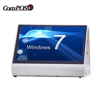New Product Dual 12 Inch Capacitive Touchscreen Desktop POS System/POS Machine/Cash Register machine