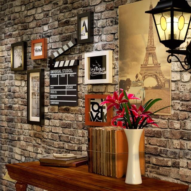 Bar Quadro De Imagem Home Decor Sala De Loja De Moda Clássico Pintura Filme  Foto Conjunto