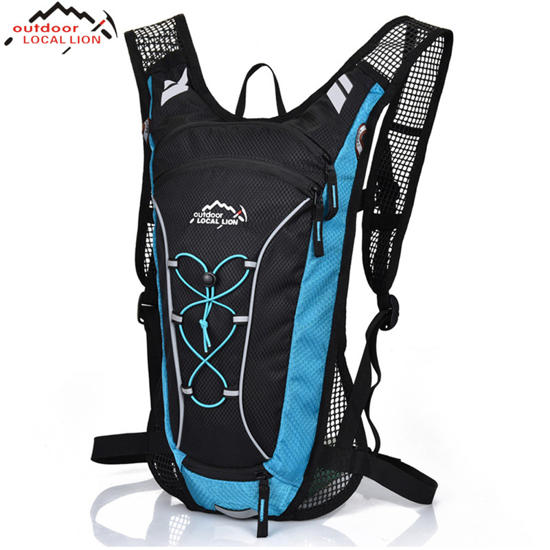 LOCAL LION Women Men Sport Backpack Mesh Breathable Mountain Road Bike Cycling Bag Travelling Climbing Camping Hiking Backpack стоимость