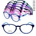 Оптовая 5012 полный обод прочный двойной цвет 180 градусов гибких петель rectro унисекс ученик TR90 оптические очки кадр бесплатно доставка