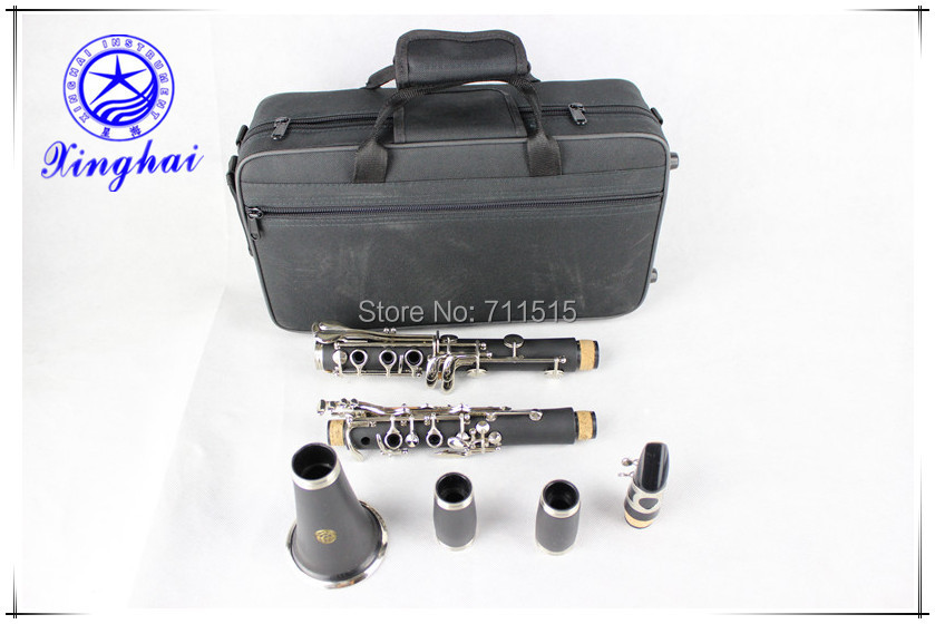 xinghai stock 17-key clarinet Bakelite drop B tuning