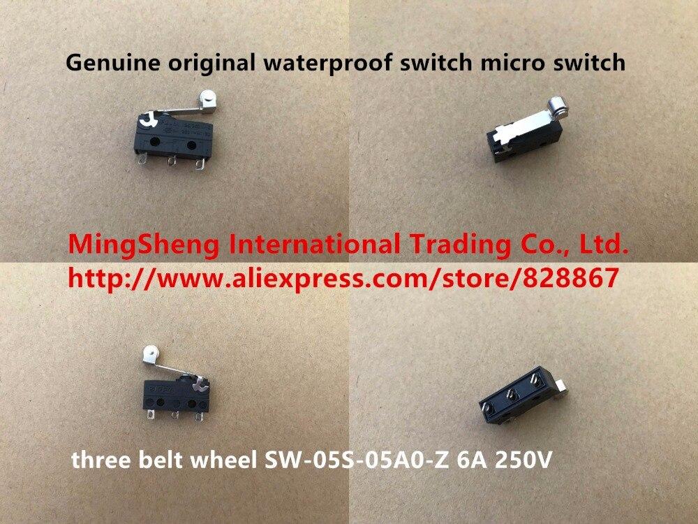 все цены на Original new 100% genuine original waterproof switch micro switch three belt wheel SW-05S-05A0-Z онлайн