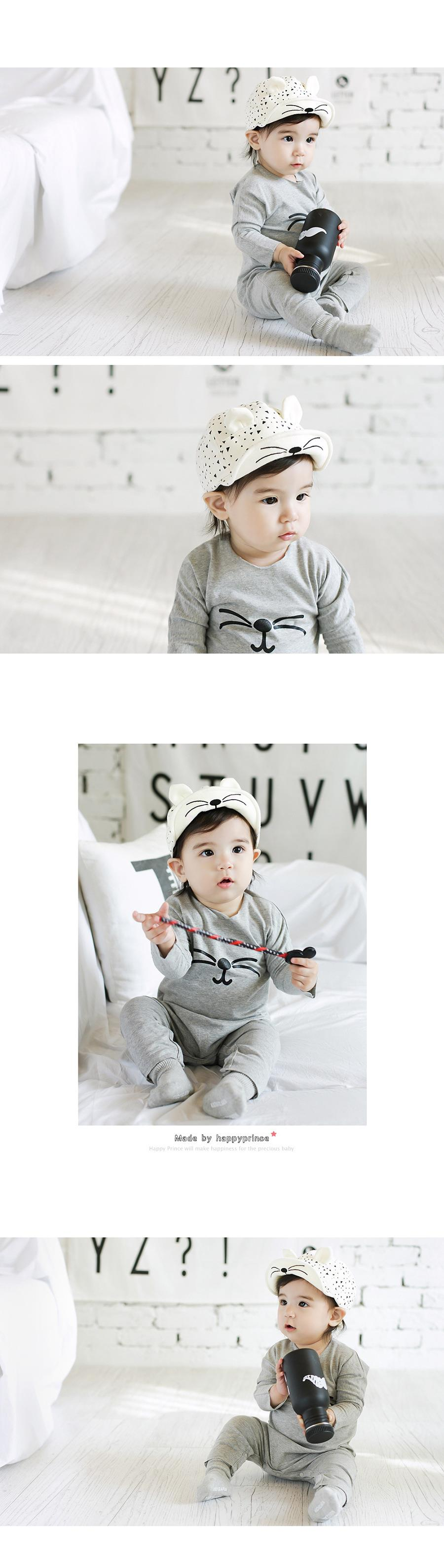 1265043aa21 Newborn Cap Cute Baby Summer Hat Animal Cat Hat Baby Cool Baby Photo ...