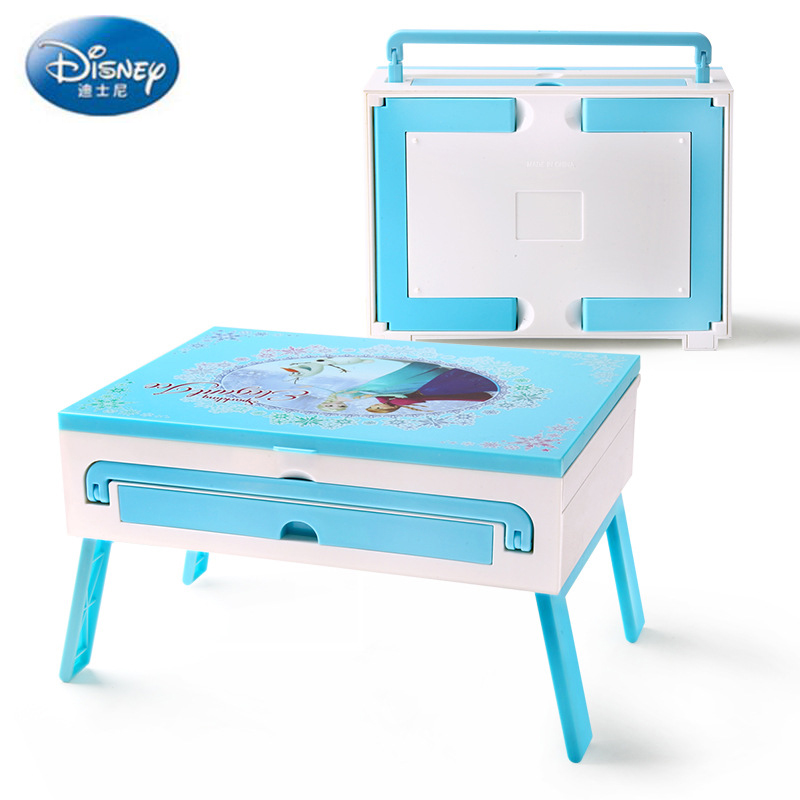 Disney Beauty  Fashion Toys  Children's Cosmetics Stage Performance Makeup Box Aisha Princess Girl Toy Set Toy For Children