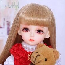 OUENEIFS bjd/sd בובות Luts HDF Hanael 1/6 גוף דגם בנות בני עיניים באיכות גבוהה צעצועי חנות שרף משלוח עיניים