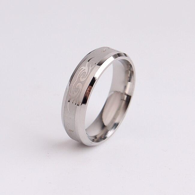 ヾ(^▽^)ノEnvío libre 6mm patrón decorativo color plata 316L ...
