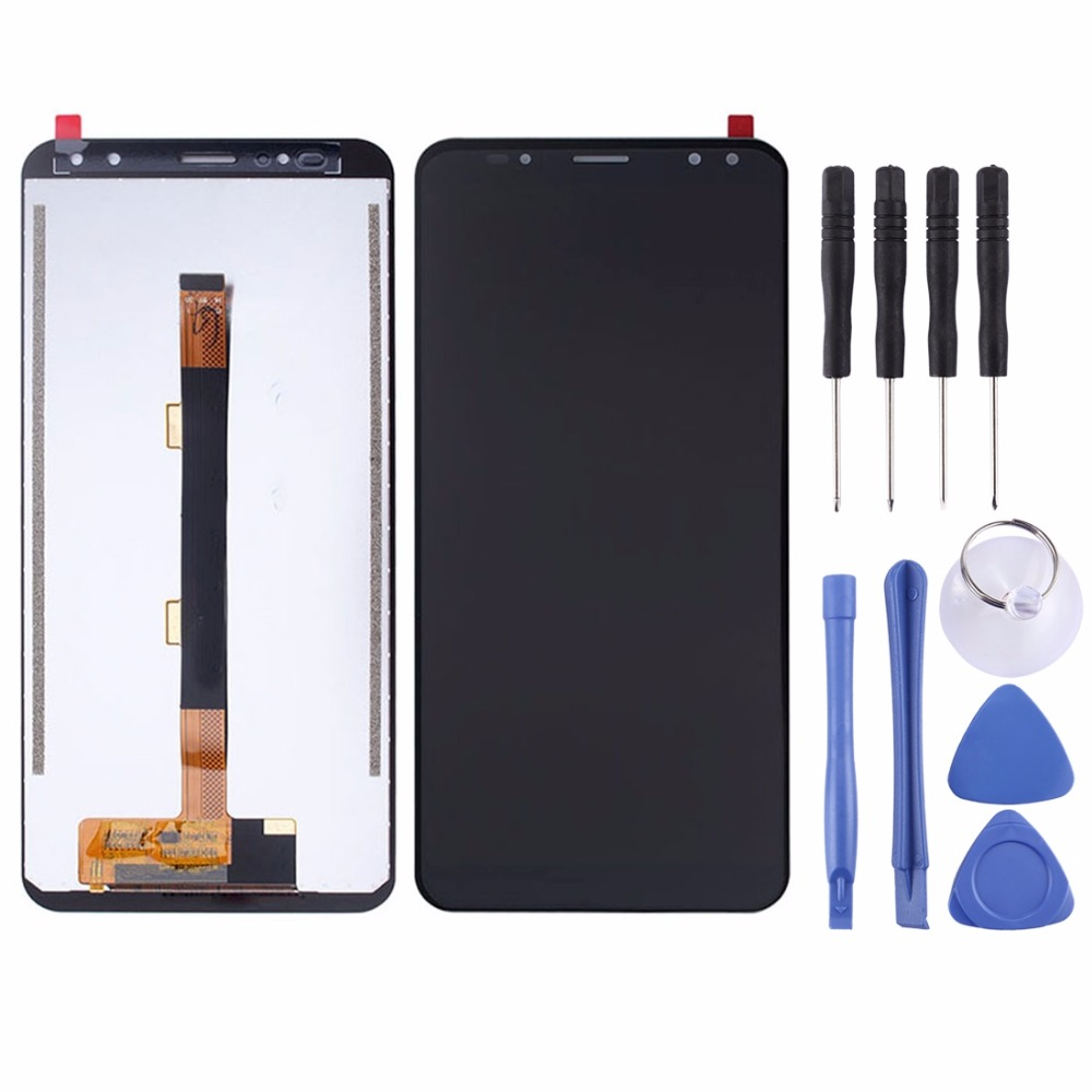 Ulefone Power 3 LCD Screen and Digitizer Full Assembly for Ulefone Power 3 Touch Screen 100% Original LCD Digitizer
