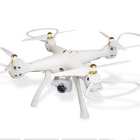 white 2.4G RC Drone 720 Camera 4CH 6 Axis Mini Quadrocopter GPS Headless Mode Altitude Hold Wifi FPV Drone Quadrocopter