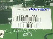 AVAILABLE 734826-501 DA0U93MB6D0 REV : D Laptop Motherboard For HP Pavilion 15-N NOTEBOOK PC