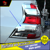 Car Styling ABS Chrome Rear Light Lamp Cover trim For Toyota Land Cruiser Prado FJ150 2010-2016 Taillight Lamp Covers Trim
