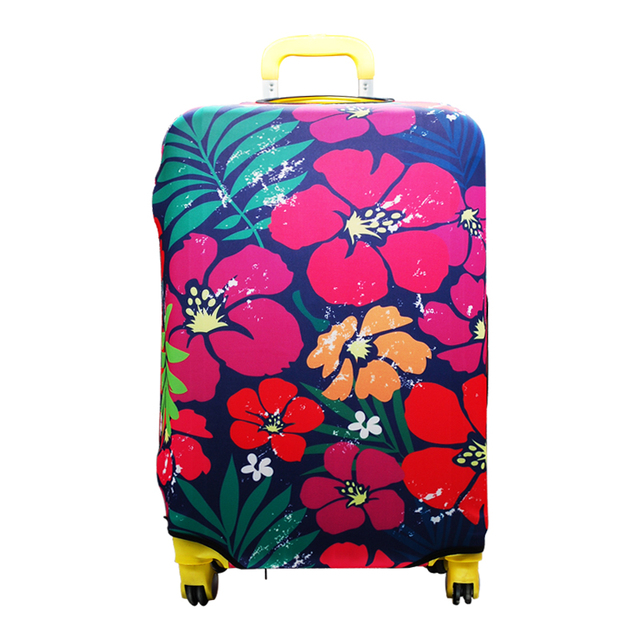 ... Trolley Travel Luggage Bag Protector Covers Flower Suitcase Protective  Cover Dust Bag For Women Case Accessories ... 8a54560a08660