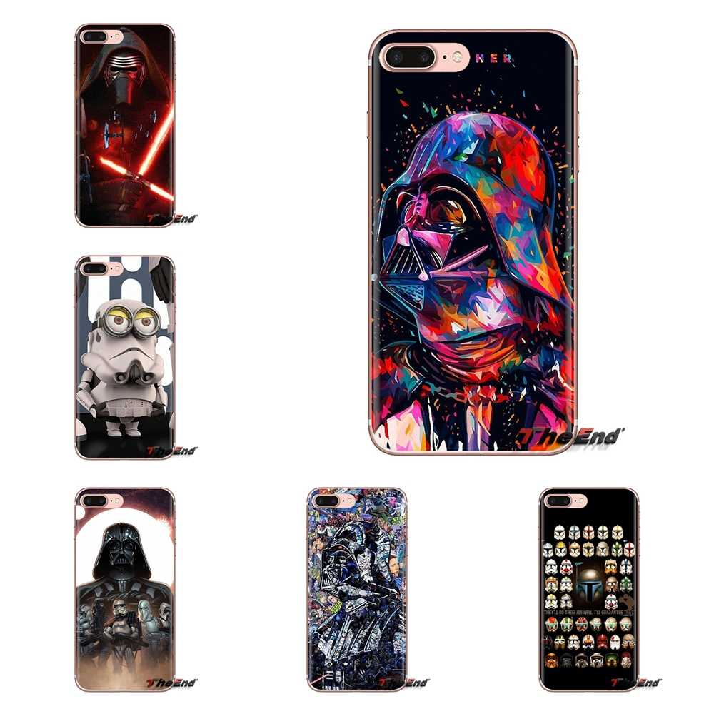 Soft Housing Case For Xiaomi Mi3 Samsung A10 A30 A40 A50 A60 A70 Galaxy S2 Note 2 Grand Core Prime Stormtrooper Helmet Star Wars