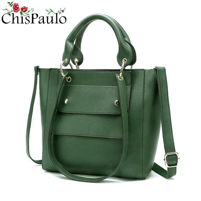 Chispaulo Women Bags Brand 2017 Cowhide Luxury Famous Brands Designer Fashion S Genuine Leather Handbags Las