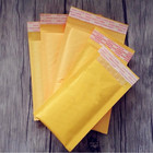 10pcs/lots Kraft Bubble Mailers Padded Envelopes Multi-function Packaging material Shipping Bags Bubble Mailing Envelope Bags