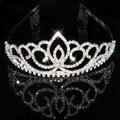 18 estilos de Moda rhinestone crystal tiara corona de La Novia accesorios de la boda
