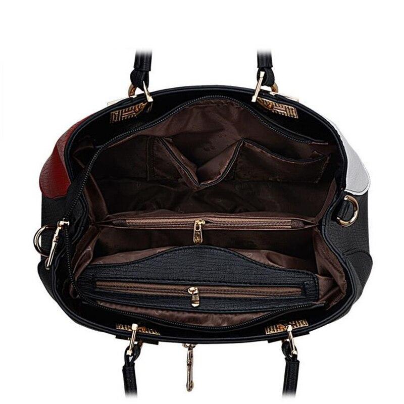 homensageiro para mulheres casuais selvagem Luggage Trend Models : Splicing tipo Pacote