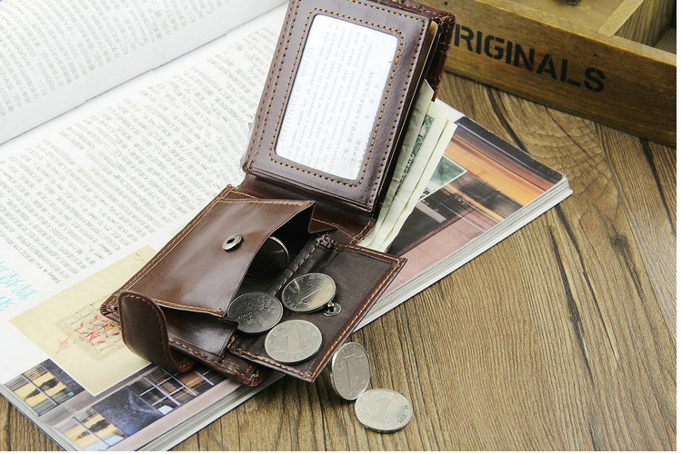 HTB1kppKmxTpK1RjSZFMq6zG VXam - Baellerry Leather Vintage Men Wallets Coin Pocket Hasp Small Wallet Men Purse Card Holder Male Clutch Money Bag Carteira W066