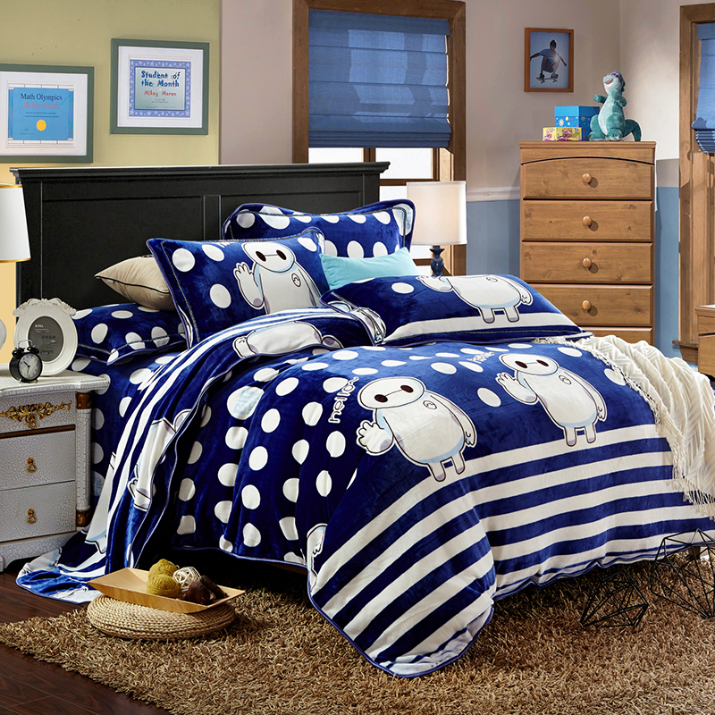 Comforter Bedding Sets Animal Cartoon Bed Set For Kids