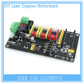 Painel de Controle de Três Eixos CNC Gravura Eletrônico Controlador Stepper Motor Drive Placa Mãe Para a Máquina de Laser Grava 3D0303