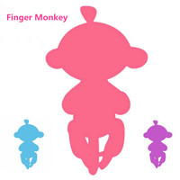 Soncot Hot Sale Interactive Finger Monkey Pet Baby Monkeys Colorful Kids Toy Best Gifts Toys For