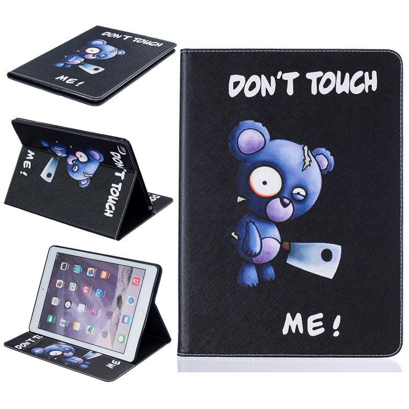 New Pattern For Apple iPad Air 2 case Book style PU Leather Protective Skin for