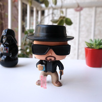Imperfect Original Funko pop Movies: Breaking Bad Heisenberg Vinyl Action Figure Collectible Model Toy Cheap No box