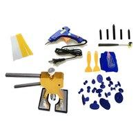 40 pcs/set Car DIY Tools Set Car Repair Paintless Dent Removal Puller Kits (US Plug)