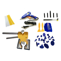 40 pcs/set Car DIY Tools Set Car Repair Paintless Dent Removal Puller Kits (US Plug)