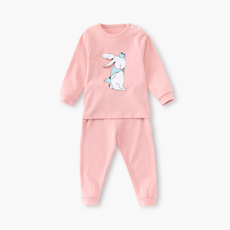 Cute Baby Kids Set Clothes Long Sleeve Cats Print Tracksuit O Neck T Shirt+Harem Pants Outfits Set Baby Boys Girls Clothing Set