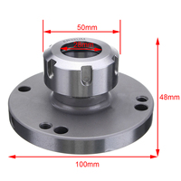 1pc Mayitr ER32 Collect Chuck 100mm Diameter High Speed Steel 41Cr4 Milling Tools Parts