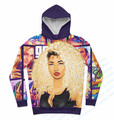 Real USA Size GTA x Nicki Minaj 3D Sublimation print Custom made hoody/hoodies plus size
