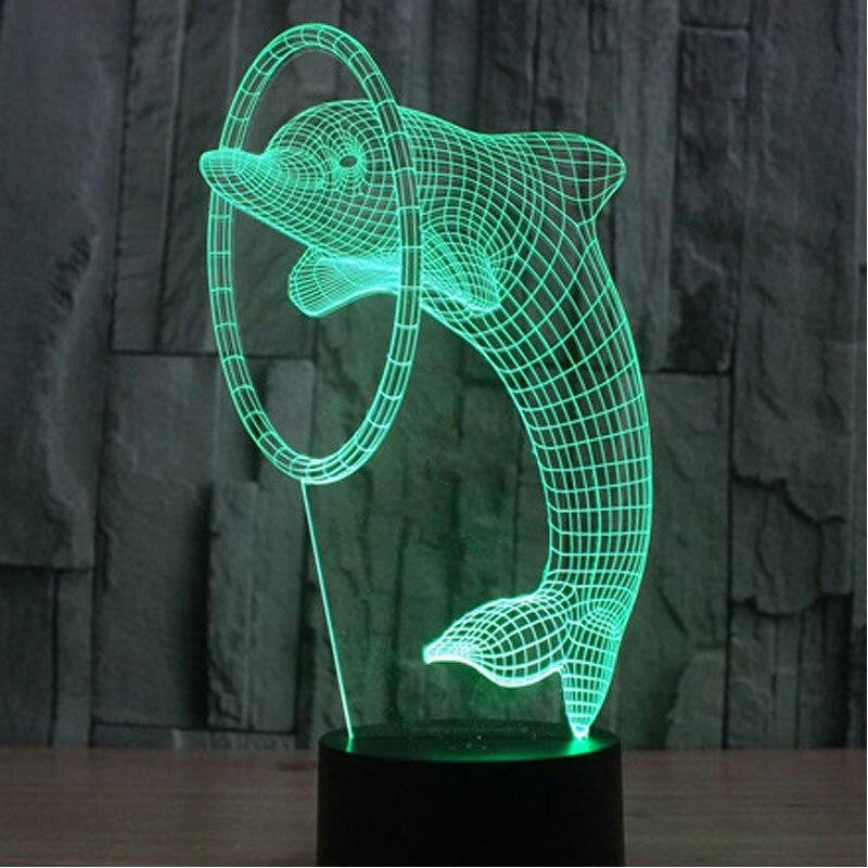 Luzes da Noite lâmpada incrível ilusão de Ótica Fonte de Luz : Lâmpadas Led